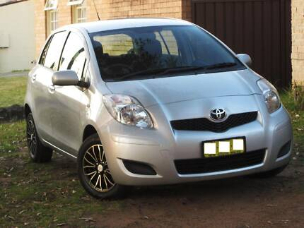 2010 Toyota Yaris Hatch 98K 5Dr Auto Clear PPSR Liverpool Liverpool Area Preview