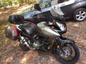 2006 Suzuki DL1000 V-Strom with heated grips