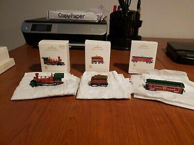 Set of 3 2012' Hallmark keepsake lionel Nutcracker Trains new in box