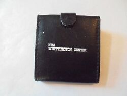 Cool Vintage NRA Whittington Center Vinyl Encased Digital Travel Alarm Clock