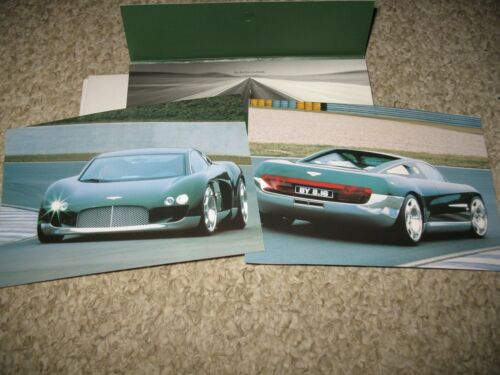 Bentley Hunaudieres project press kit brochure. Circa 1999