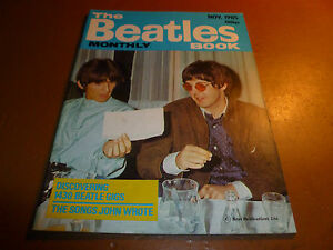 BEATLES-BOOK-MONTHLY-Magazine-November-1985-115-Paul-McCartney-John-Lennon