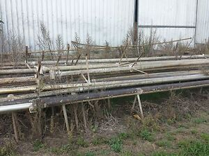 Irrigation Pipes - Aluminium various with fittings etc - Farming Gatton Lockyer Valley Preview