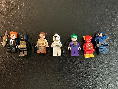Lego Batman Joker Flash Star Wars Harry Potter Minifigure Lot
