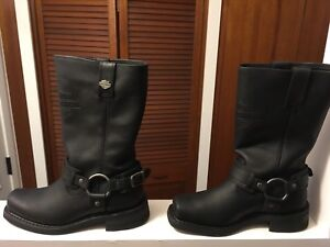 Harley Davidson Leather Uppers size 7
