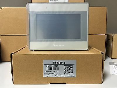 Mt8050ie Weinview 4.3inch Hmi Touch Screen 480272 With Ethernet New In Box