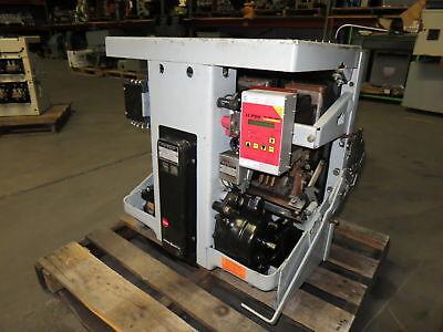 Rebuilt General Electric AK-1-75 3000A w AC Pro Trip Motor Operated Breaker GE