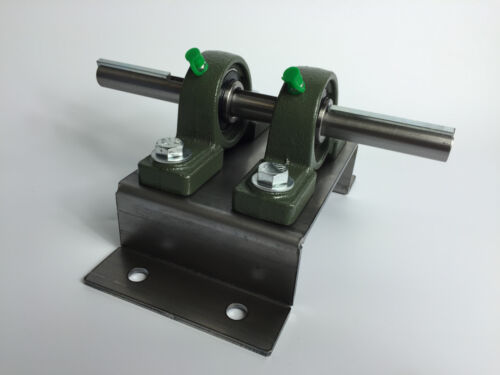 Belt grinder drive wheel bearing stand