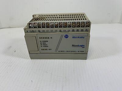 Allen Bradley Micrologix 1000 1761-l10bwa Series D