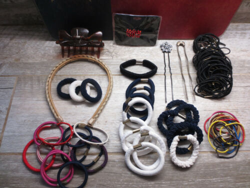 Hair Ties, Hair Bands and Clips