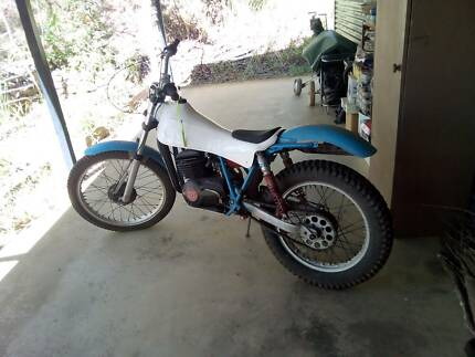 Montesa 242 twin shock Trials bike