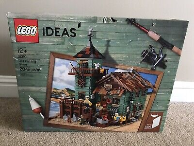 LEGO Ideas Old Fishing Store 2017 (21310). New In Sealed Box - Box Is Not Mint