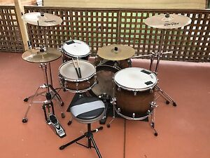 Ludwig Epic X Over Drum Kit Roxburgh Park Hume Area Preview