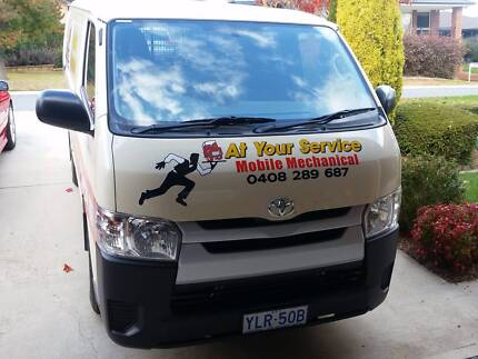 At your service mobile mechanical repairs and servicing
