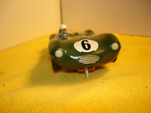 Vintage Strombecker 1953 Jaguar D RARE 1/24  SLOT car offered by MTH