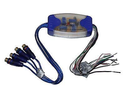 - 4 Channel Hi/Lo Audio Level (Rca) Output Car Audio Part PS-4800