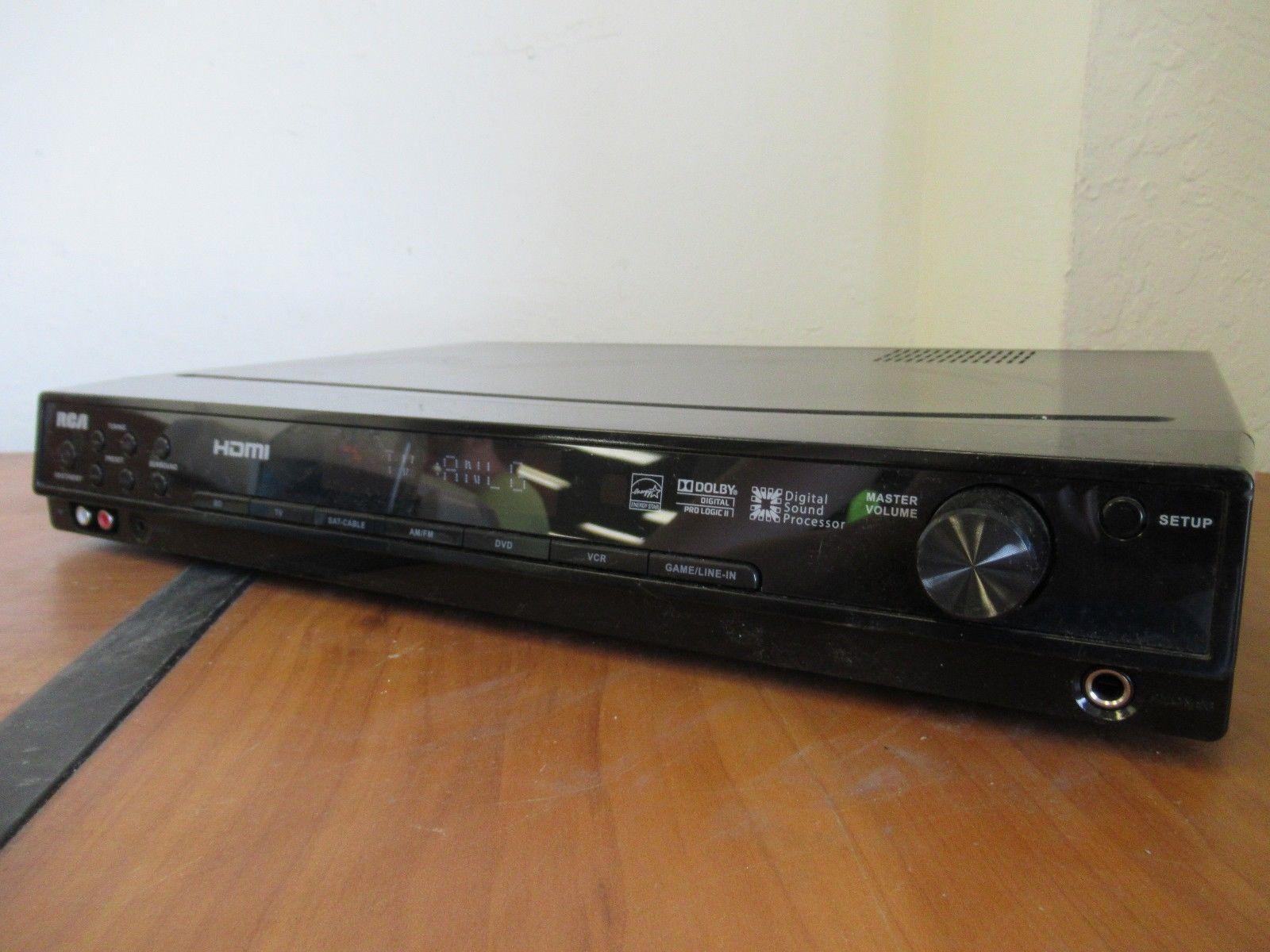 rca rt2906e hdmi digital sound processor av receiver ebay rh ebay com RCA Surround Sound System RCA Home Theater System