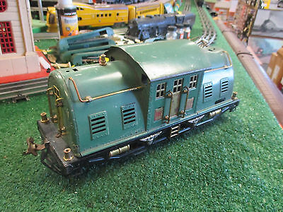 LIONEL PREWAR 10E 0-4-0 ELECTRIC LOCOMOTIVE 1926-30 STANDARD GAUGE VG CONDITION