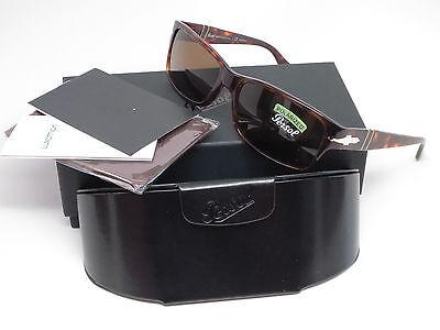Persol PO 2803-S 24/57 Havana w/Crystal Brown Polarized Sunglasses 2803S (Persol Po 2803s Sunglasses)