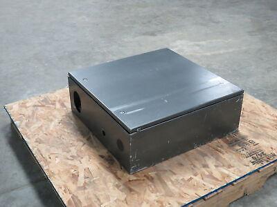 Hoffman Csd24248 Steel Electrical Enclosure Jic Box Hinged Door 24x 24x 8