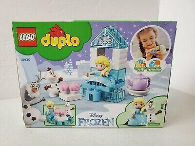 LEGO DUPLO Disney Frozen Elsa and Olaf's Tea Party 10920 Playset 17pcs New!