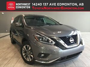 2018 Nissan Murano SL | AWD | Pwr Gate | Backup Cam | Leather |