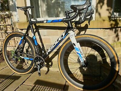 "RIDLEY 56cm ""X-FIRE"" FULL CARBON CYCLO CROSS BIKE"