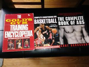 3 Fitness books all them $5 - just want them gone !!!!!!