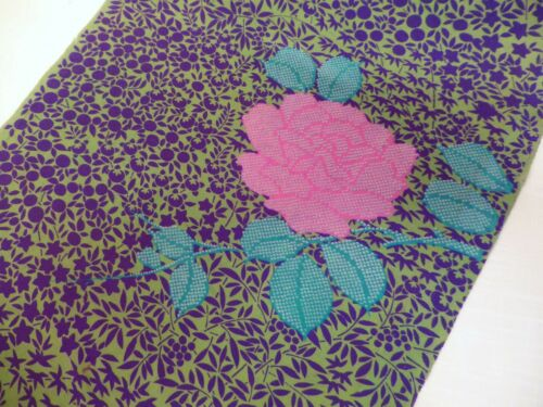 "#29  Japanese Silk Fabric Panel,   50""  x  14"""