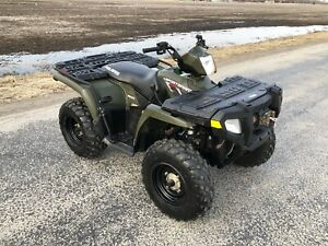 2010 Polaris Sportsman 500HO *VERY LOW KM*