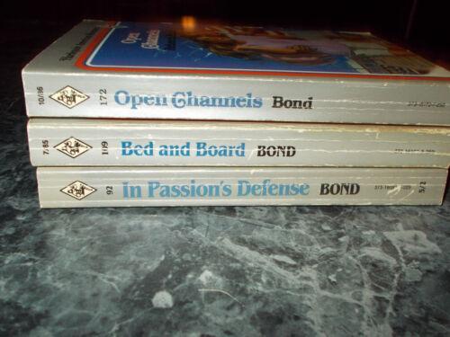 Harlequin American Rebecca Bond lot of 3 contemporary romance paperback