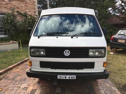 1990 Volkswagen Transporter T3 Campervan Wollongong Wollongong Area Preview