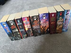 Wheel of Time paperback Books 1 to 9