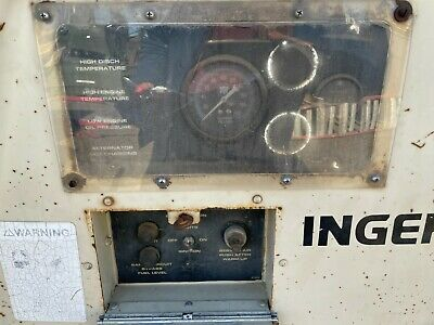 Used Ingersoll-rand Diesel Portable Air Compressor 175 Part