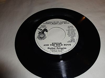 45 RPM Record  Stefan Arngrim & The Wild Boys Dying in St. Louis... WLP Promo