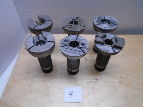 "Hardinge 5C 2""  Chuck Emergency Collet lot"