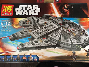 Brand New Never Opened 1381 Piece Star Wart building set