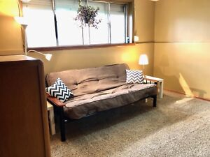 Furnished Basement Suite for rent 9108-112 Ave.