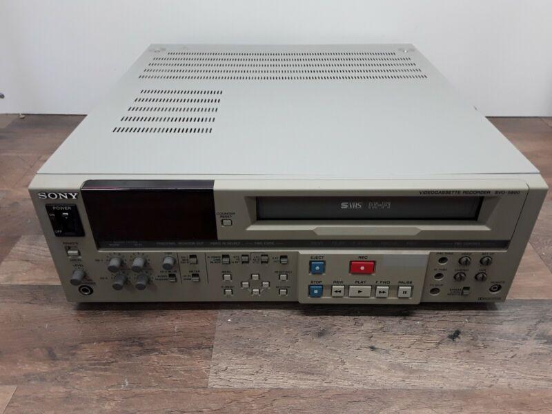 Sony Video Cassette Recorder SVO - 5800