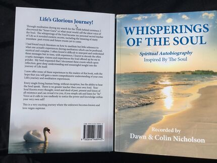 Book: Whisperings Of The Soul (Free Express Postage )