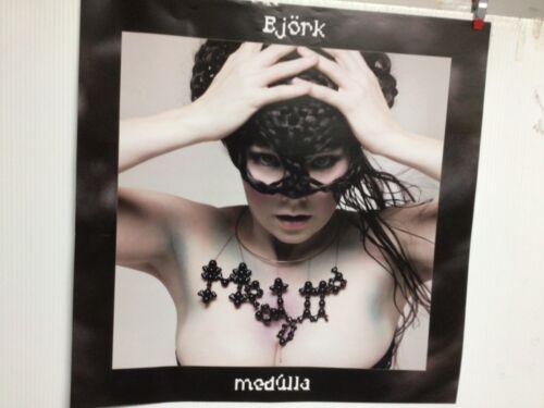"""BJORK Sugarcubes - Medulla  Original Record Store Promo Poster  2004   18""""x18"""""""