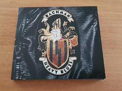 RANDY BACHMAN - HEAVY BLUES CD (2015) digipak, Limited, including TUSQ PICK