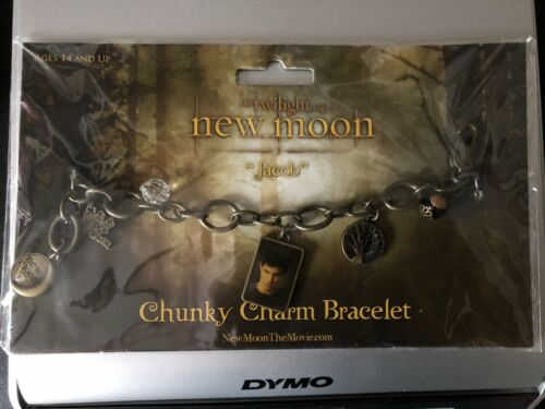 Twilight New Moon Chunky Charm Bracelet Jacob