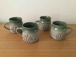 Pottery mugs Engadine Sutherland Area Preview