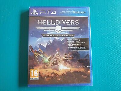 PS4 : Helldivers Super-Earth Ultimate Edition ( neuf sous blister )