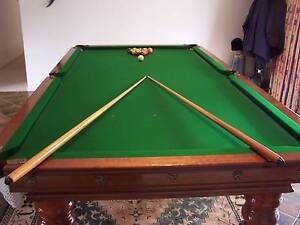 SLATE BILLIARD TABLE - AS NEW ONE OWNER Strath Creek Murrindindi Area Preview