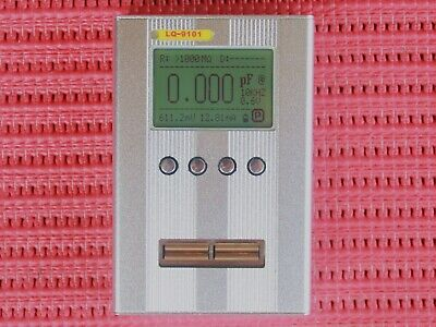Auto Lcr Meter Tester 10khz Digital Bridge Resistor Inductance Capacitance Test