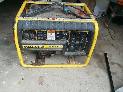 Wacker Neuson Gp3800a Generator