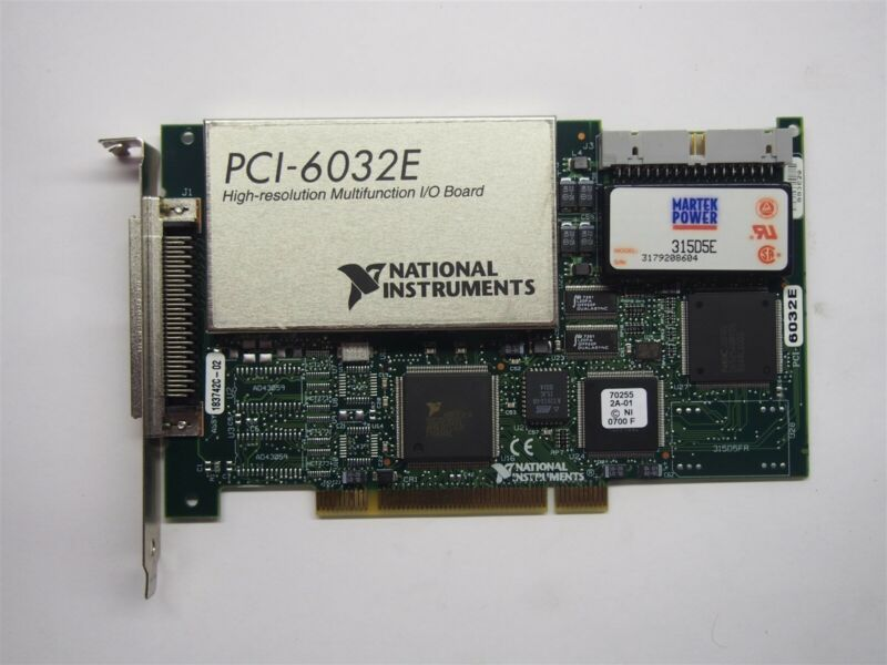 National Instruments PCI-6032E High Resolution Multifunction IO Board 183742C-02