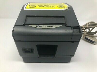Star Tsp700ii Pos Thermal Receipt Printer Ethernet 743l - Used